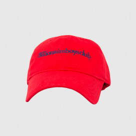 Кепка Billionaire Boys Club EMBROIDERED CURVED VISOR CAP RED
