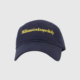 Кепка Billionaire Boys Club EMBROIDERED CURVED VISOR CAP NAVY