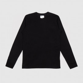 Лонгслив Colorful Standard Classic Organic LS Tee Deep Black
