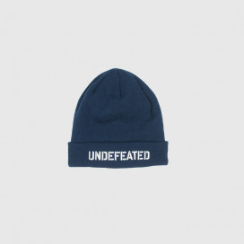Шапка UNDEFEATED Stencil beanie fall 16 Navy