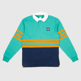 Лонгслив Adidas Winchell Polo Actgrn/Conavy/Orange