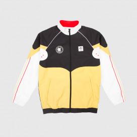 Куртка Adidas Evisen Track Top Black/ White/ Pyrite/ Scarlet