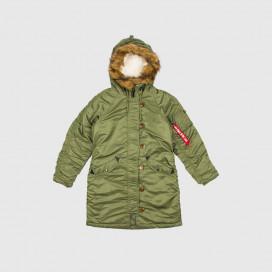 Куртка Alpha Ind. Elyse Sage