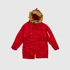 Куртка женская Alpha Ind. N-3B Commander Red