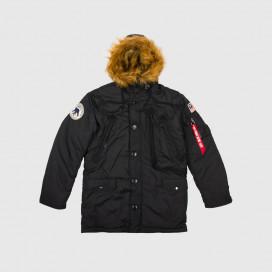 Куртка Alpha Ind. N-3B Alpine Parka Black