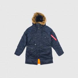 Куртка женская Alpha Ind. N-3B Republic Blue
