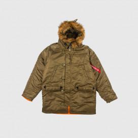 Куртка Alpha Ind. Slim Fit N-3B Olive