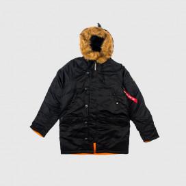 Куртка женская Alpha Ind. N-3B Black