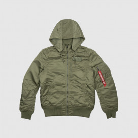 Куртка Alpha Ind. MA-1 Hooded Rib Sage