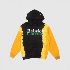 Толстовка с капюшоном Babylon Stacked Logo Hoodie Orange