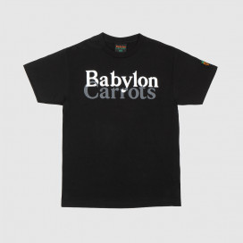 Футболка Babylon Stacked Logo Tee Black