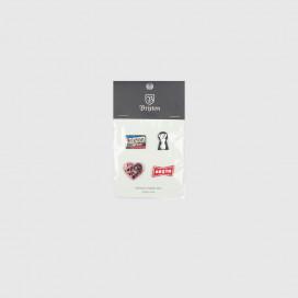 Значок Brixton Peeper Pin Pack