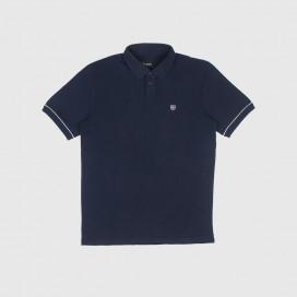 Футболка Brixton Carlos  S/S Polo Knit Navy