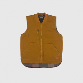 Жилетка Brixton Abraham Vest Copper