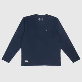 Лонгслив Brixton Trek L/S Knit Navy