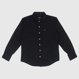 Рубашка Brixton Charter Oxfort L/S WVN Black