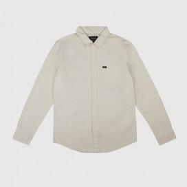 Рубашка Brixton Charter Oxfort L/S WVN Off White