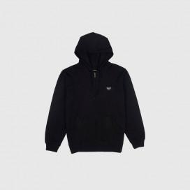 Толстовка с капюшоном Brixton Trig Zip Hood Fleece Black