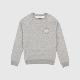 Толстовка Brixton Wheeler lll EU Crew Heather Grey