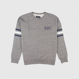 Толстовка Brixton Barton Crew Fleece Heather Grey