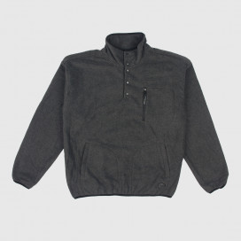 Толстовка Brixton Higgins Pullover Heather/Black