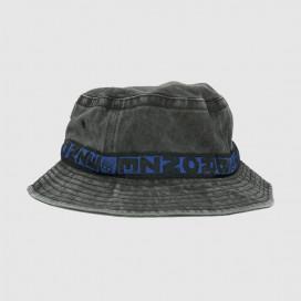 Панамка Bronze Bucket Hat Washed Black