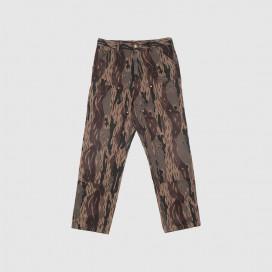 Штаны Carhartt WIP Double Knee Pant Camo Unite (Aged Canvas)