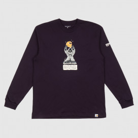 Лонгслив Carhartt WIP L/S KoganKult Level T-Shirt Dark Iris