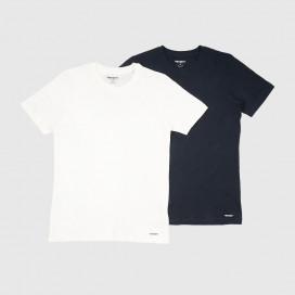 Набор Футболок Carhartt WIP Standard Crew Neck T-Shirt  White/Navy