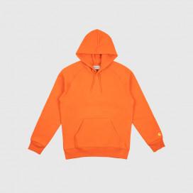 Толстовка с капюшоном Carhartt WIP Hooded Chase Sweatshirt Brick Orange/Gold