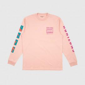 Лонгслив Carhartt WIP L/S Horizon T-Shirt Blush