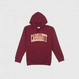 Толстовка с капюшоном Carhartt WIP Hooded Division Sweat Chianti / Multicolor