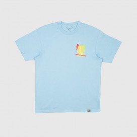 Футболка Carhartt WIP S/S Burning Palm Beach T-Shirt Capri