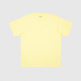 Футболка Carhartt WIP S/S Script Embroidery T-Shirt Honeydew / White