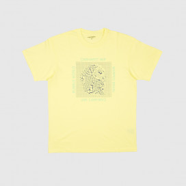 Футболка Carhartt WIP S/S Grid C T-Shirt Honeydew