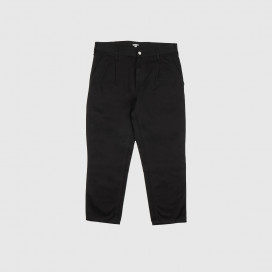 Штаны Carhartt WIP Abbott Pant Black (Stone Washed)