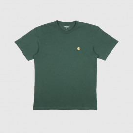 Футболка Carhartt WIP S/S Chase T-Shirt Treehouse/Gold