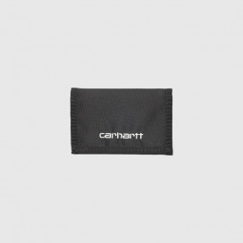 Кошелек Carhartt WIP Payton Wallet (6 Minimum) Black/White