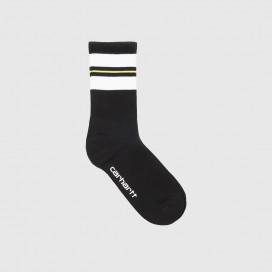 Носки Carhartt WIP Norwood Socks (6 Minimum) White/Black/Lime