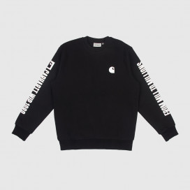 Толстовка Carhartt WIP 1989 WIP Sweatshirt Black/White