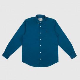 Рубашка Carhartt WIP L/S Medison Shirt Corse/Black