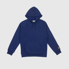 Толстовка с капюшоном Carhartt WIP Hooded Chase Sweatshirt Metro Blue/Gold