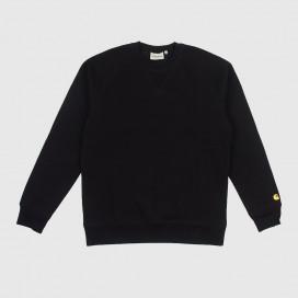 Толстовка Carhartt WIP Chase Sweatshirt Black/Gold