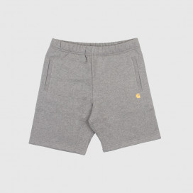 Шорты Carhartt WIP Chase Sweat Short Dark Grey/Gold