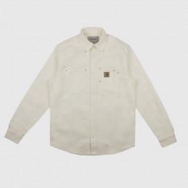 Рубашка Carhartt WIP L/S Tony Shirt Wax Rigld