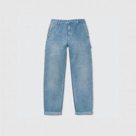 Штаны Женские Carhartt WIP Pierce Pant Woman Blue (light stone washed)