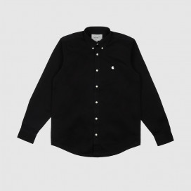 Рубашка Carhartt WIP L/S Madison Shirt Black/Wax
