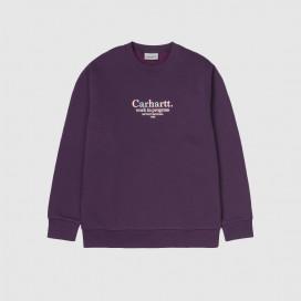 Толстовка Carhartt WIP Commission Sweatshirt Boysenberry