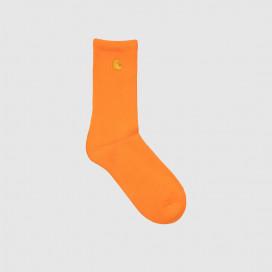 Носки Carhartt WIP Chase Socks (6 Minimum) Saferty Orange/Gold