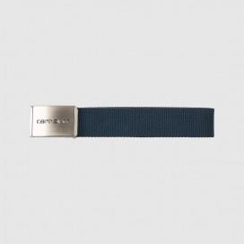 Ремень Carhartt WIP Clip Belt Chrome Dark Navy